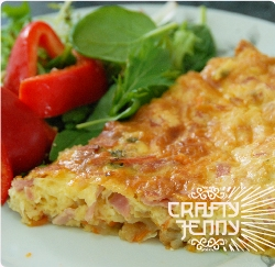 How to make quiche / frittata