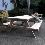 dismantlable picnic table