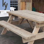 sturdy picnic table