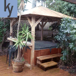 8ft square spare gazebo